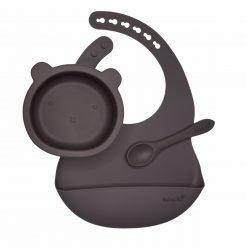 The Bear Bowls Set- Aubergine