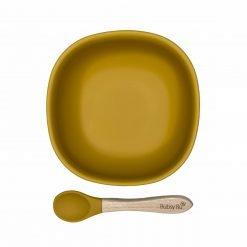 Bowls Squared & Spoon Mango
