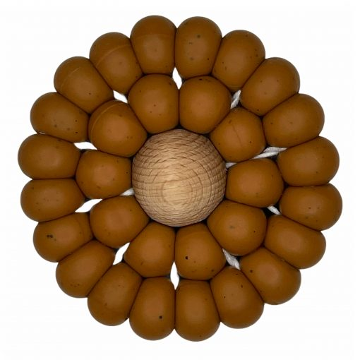 Crochet Teether - Auburn