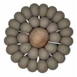 Crochet Teether - Autum Ash