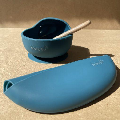 The Orb Bowl Set - Peacock Blue2