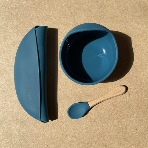 The Orb Bowl Set - Peacock Blue1