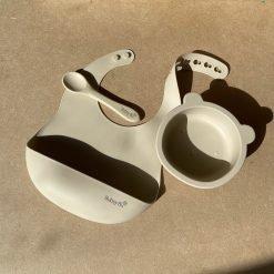 Bear Bowl Set- Cashmere1