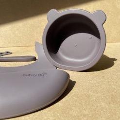 Bear Bowl Set- Aubergine2