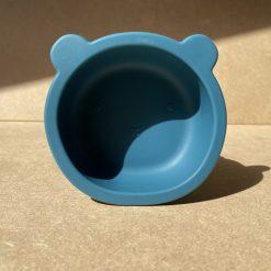 Bear Bowl - Peacock Blue2