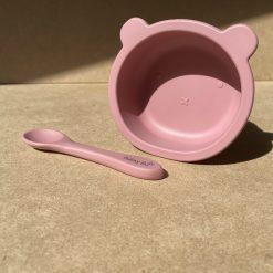 Bear Bowl - Blush Pink1