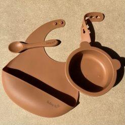 Bear Bowl Set- Spiced Pumpkin2