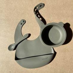Bear Bowl Set- Sage1