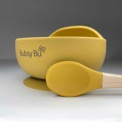 Orb Bowl & Spoon - Mango 01