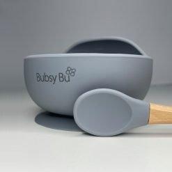 Orb Bowl & Spoon - Space Grey 01