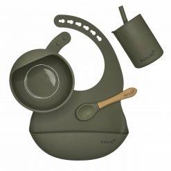 The Orb Bowl & Cup Set - Sage