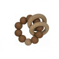 Ring Teether - Cocoa