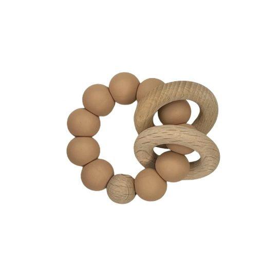 Ring Teether - Nude