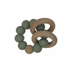 Ring Teether - Olive