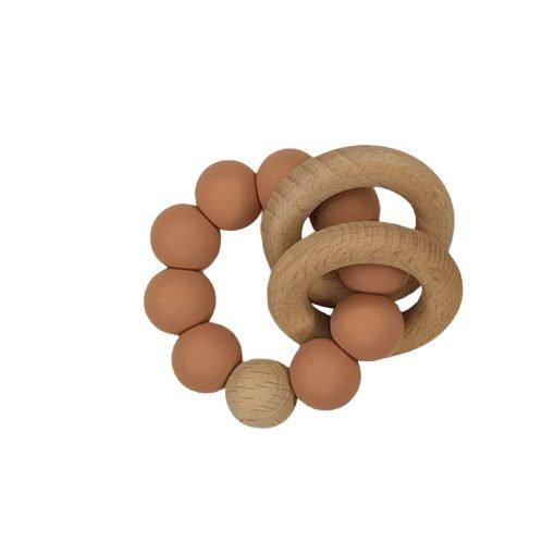 Ring Teether - Peachy