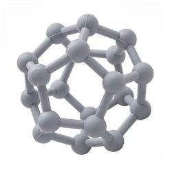 Sensory Teething Ball - Slate Grey