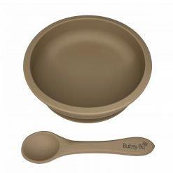 Slimline Bowl & Spoon - Mocha Sands
