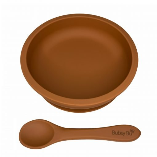 Slimline Bowl & Spoon - Spiced Pumpkin