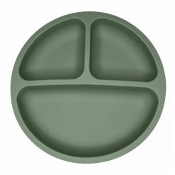 Portion Plate - Olive