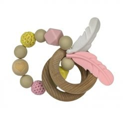 Ring Teether - Heart